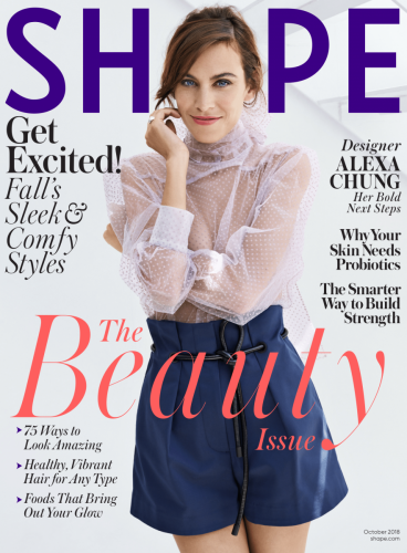 Fit for Two Shape Magazine Feature